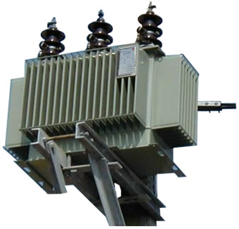 transformer-polemounted